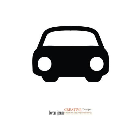 iconillustration: Car icon.illustration.