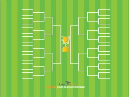 tourney: blank football tournament bracket.vector illustration.