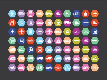 Transport icon.logistic icon.vector illustration.