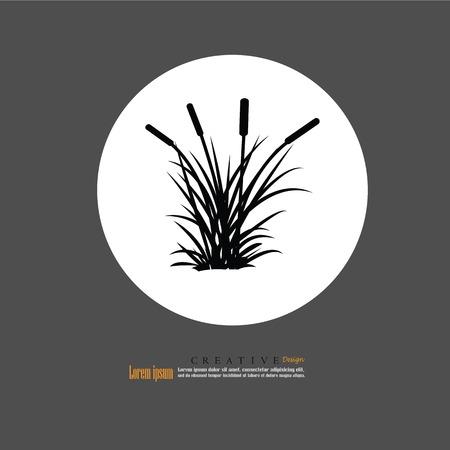 Grass.Vector Illustration.