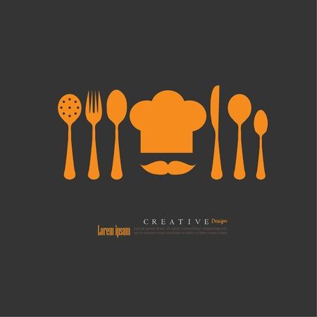 Chef icon.Chef symbol.vector illustration.