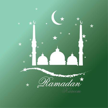 Ramadan Kareem background vector illustration. Illustration