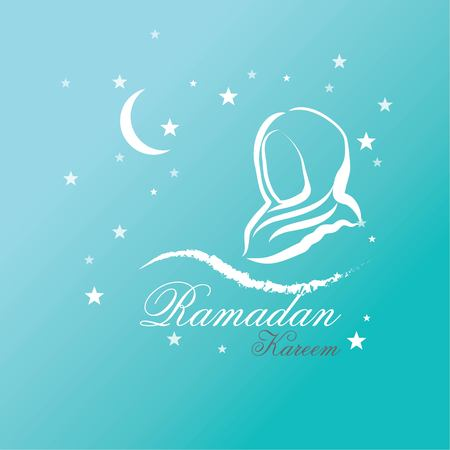 Ramadan Kareem background vector illustration. Illustration