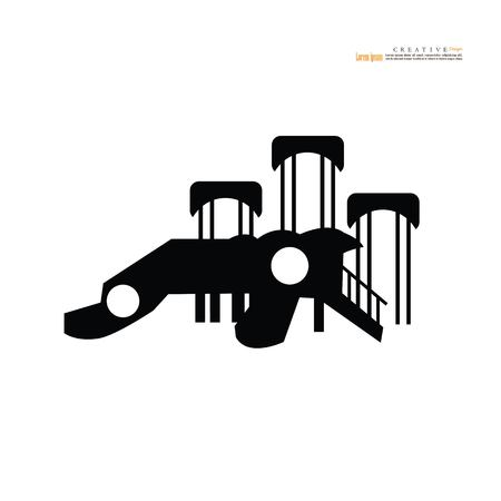 Playground icon.vector illustration.