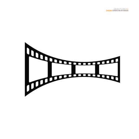 film icon.vector illustration. Illustration