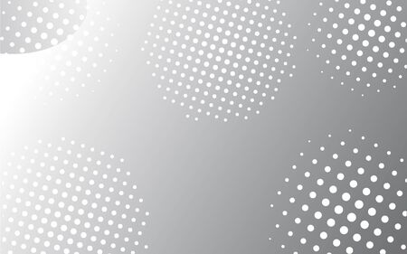 white and gray geometric with gradient background. Fluid shapes composition.template for your advertising,website,flyer,poster and etc. Eps10 vector. - Vector illustration.