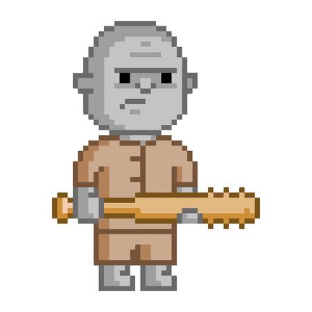 8 bit: Trol Pixel para videojuego de 8 bits y dise�o