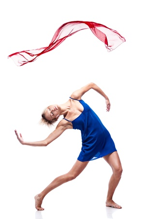 modern style dancing girl