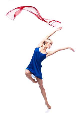 modern style dancing girl Stock Photo - 15752416
