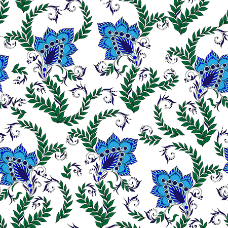 mehendi: Henna Mehendi Tattoo Doodles Seamless Pattern