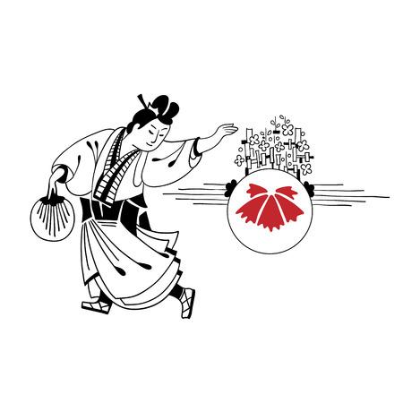 neko: Graphic greeting series welcome to japan