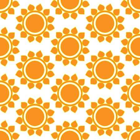 suns: Retro abstract seamless pattern with suns. Retro seamless patterns set.