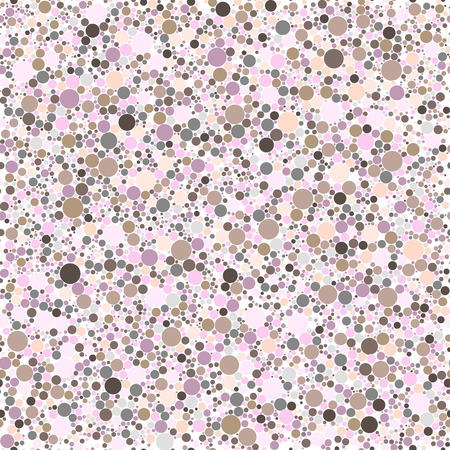 chaplet: Abstract background with circles. Seamless pattern Illustration