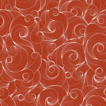 clots: Seamless brown abstract hand-drawn pattern, waves background. Seamless pattern can be used for wallpaper, pattern fills, web page background,surface textures.