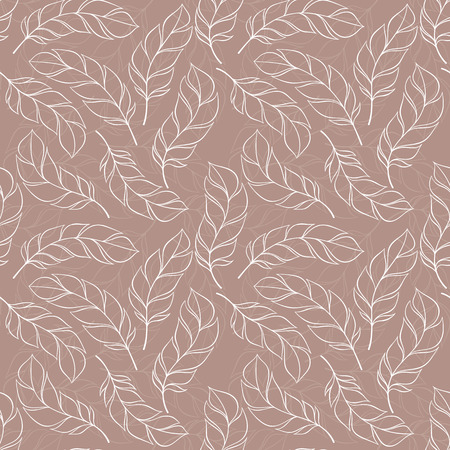 softly: abstract feather pattern.
