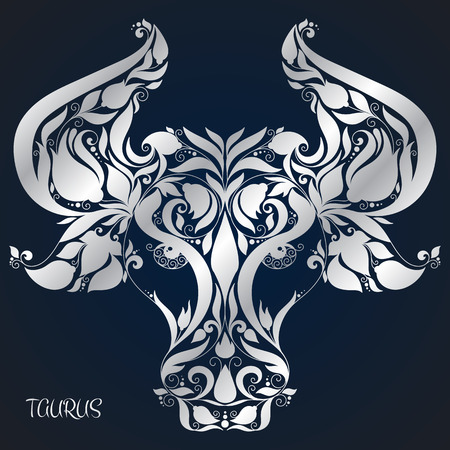 Taurus. Astrology Zodiac sign. Vector zodiac. Hand drawn style. Ilustrace