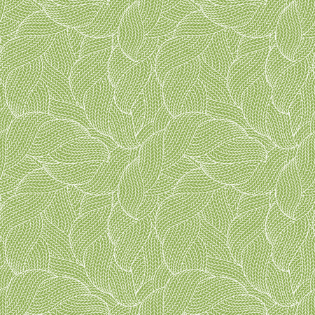 Seamless pattern of knitting braids, endless texture, stylized sweater fabric. Texture for web, print, wallpaper, fall winter fashion, textile design, website background, holiday home decor, fabric Illustration