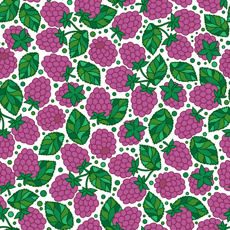 dewberry: Blackberry vector pattern. Vector seamless pattern with tasty juice berry