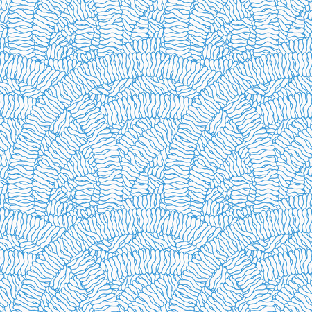Hand-drawn abstract pattern.
