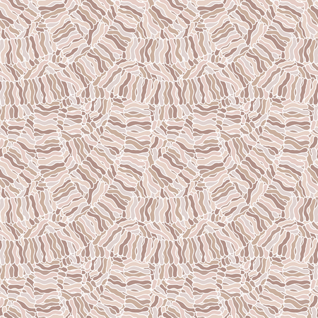 Seamless abstract hand-drawn waves pattern, wavy background. Can be used for wallpaper, pattern fills, web page, surface textures.
