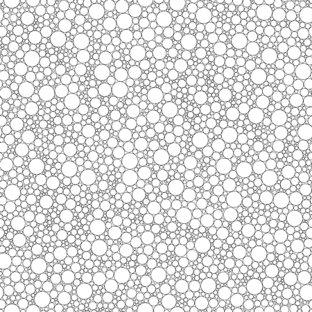 Seamless pattern for coloring book. Doodle, vector, zentangle, tribal design element. Pattern for coloring book.