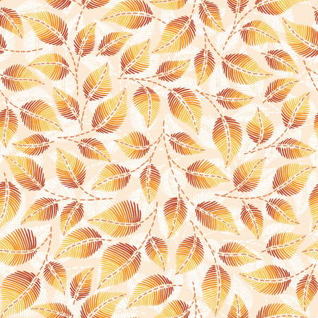 Hand drawn seamless pattern with  leaves, peppermint, spicy herbs, kitchen texture. Doodle cooking ingredient for design package tea, wallpaper, cosmetics, textile, natural organic product.