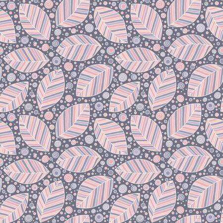 Stylish seamless pattern in retro style. Perfect for wallpaper, gift paper, pattern fills, web page background, autumn   cards. Çizim