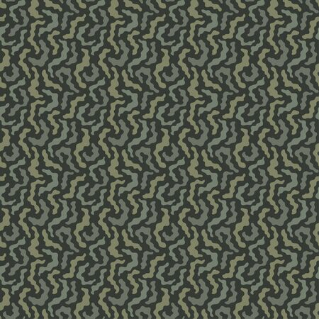 Seamless dazzle vector pattern khaki with roses, camouflage. Geometrical texture modern cute background.