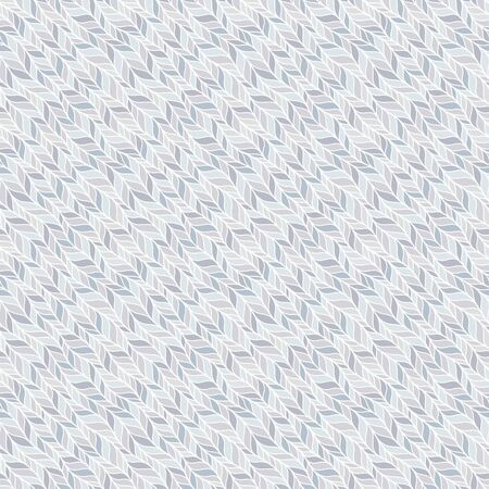 Gray seamless pattern of braids, endless texture, stylized sweater fabric. Texture for web, print, wallpaper, fall winter fashion, textile design, website background,  home decor