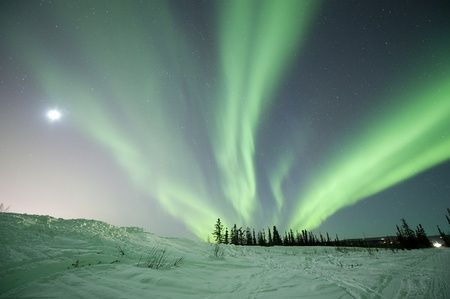 Aurora in Fairbanks