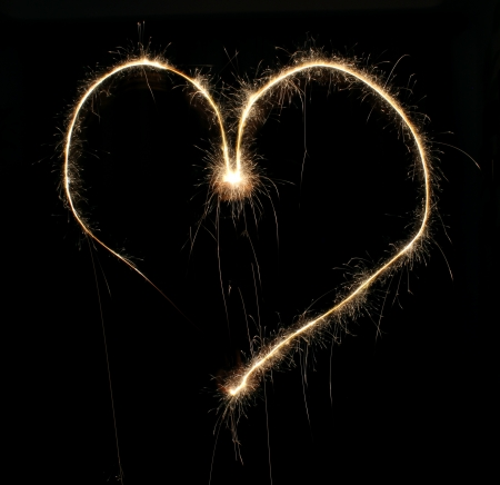 heart from Bengal lights