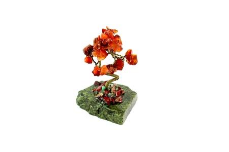 amber tree Stock Photo