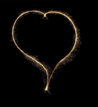 heart from Bengal lights Stock Photo - 16838788