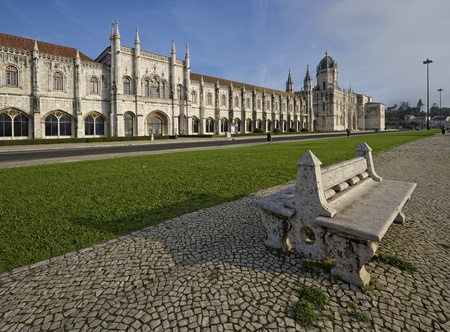 The Jeronimos Monastery of Santa Maria de Belém, is located in the suburb of Belém, Lisbon. Manueline style designed by architect Juan de Castillo, was commissioned by King Manuel I of Portugal to mark the successful return from India of Basque Gama, was