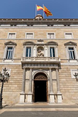 generalitat: The Palau de la Generalitat is the seu of the Presidency of the Generalitat de Catalunya