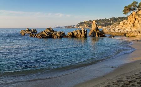 costa brava: Calonge, Costa Brava, Espagne. Belle summer resort