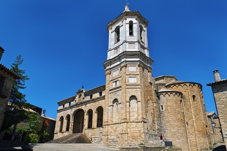 Cathedral, Roda de Isabena Huesca. Spain.