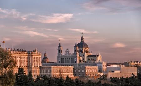 Santa Maria la Real de La Almudena (Catholic cathedral in Madrid).