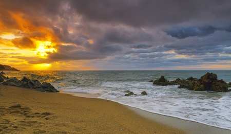 Calonge, Costa Brava, Spain. Beautiful summer resort
