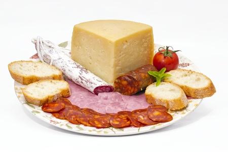 embutido: Spanish omelette with chorizo Iberico