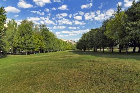 Taconera Park in Ciudadela, Pamplona Spain photo