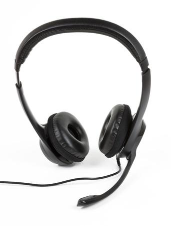 Headset isolated on white background