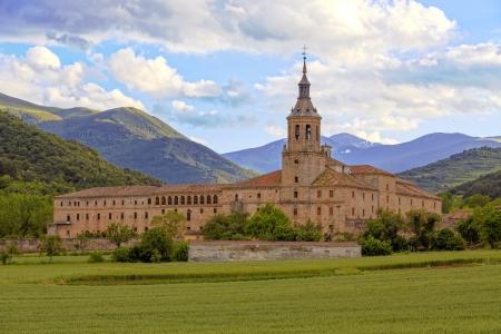 la: Kloster von Yuso, San Millan de la Cogolla, La Rioja, Spanien, Lizenzfreie Bilder