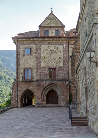 Nuestra Senora de Valvanera Monastery, Valvanera Monastery of Our Lady has belonged to the Benedictines, La Rioja, Spain  photo