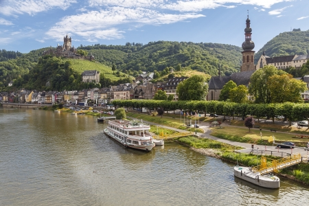 moseltal: Cochen Castle, Germany and Mosel river