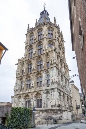colony town hall tower, Germany