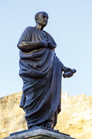 seneca: Lucius Annaeus Seneca, known as Seneca the Younger, Corduba, 4. C. - Rome, 65 d. C. philosopher, politician, Roman orator and writer. Son of Marcus Annaeus Seneca He was Quaestor, Praetor and Senator of the Roman Empire during the governments of Tiberius,