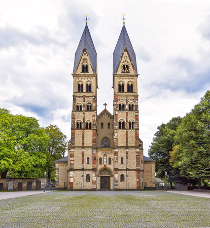 The Basilica of St. Castor - the oldest church in Koblenz, Germany  photo