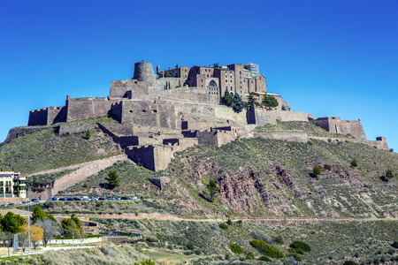 Cardona castle is a famous medieval castle in Catalonia  Now it is a famous state run hotel or