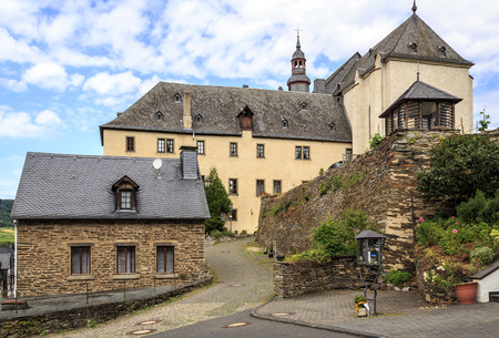 Church of San Cristobal in beilstein germany. photo